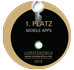 Constantinus Award 2016 1. Platz Mobile Apps